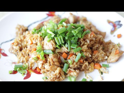 Chinese Chicken Fried Rice Recipe--Cooking A Dream