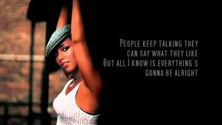 Alicia Keys - No One (Lyrics Video) HQ