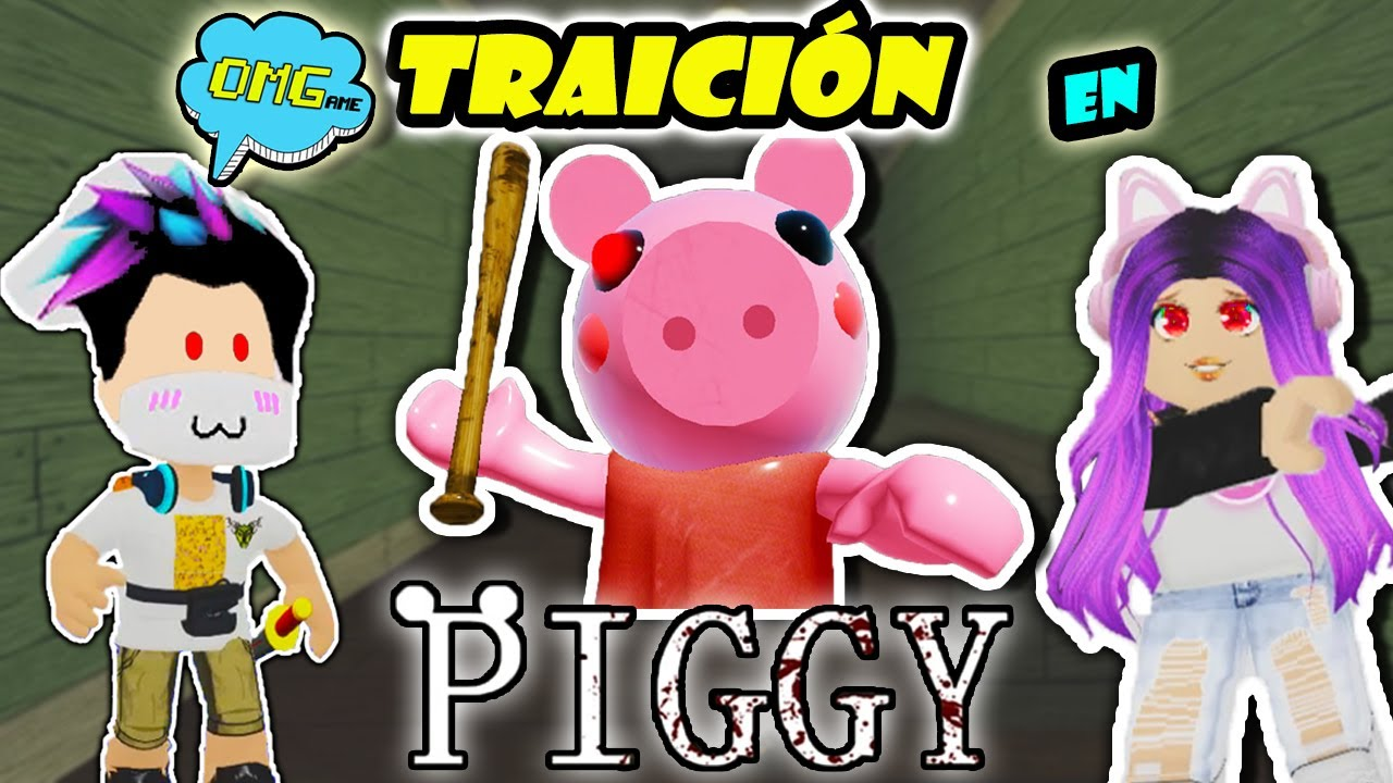 MI NOVIA ME TRAICIONA en PIGGY !!! 😱 Jugando Piggy Roblox - OMGAME Retos Divertidos