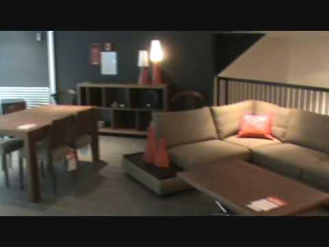 magasins de meubles contemporains montr al et laval mariette youtube. Black Bedroom Furniture Sets. Home Design Ideas