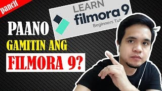 How To Use Filmora 9 | The Best Video Editor | TAGALOG