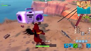 Fortnite - Cloaked shadow SKIN + BOOM BOX + HUGE DISCO BALL and LAST WIN this year!