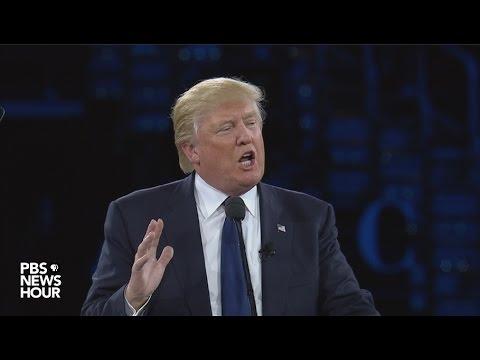 Watch Donald Trump speak at AIPAC 2016