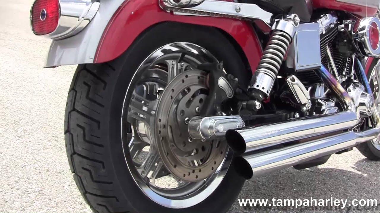 Used Harley Davidson Wheels >> Used 2002 Harley Davidson FXDL Dyna Low Rider Motorcycle ...