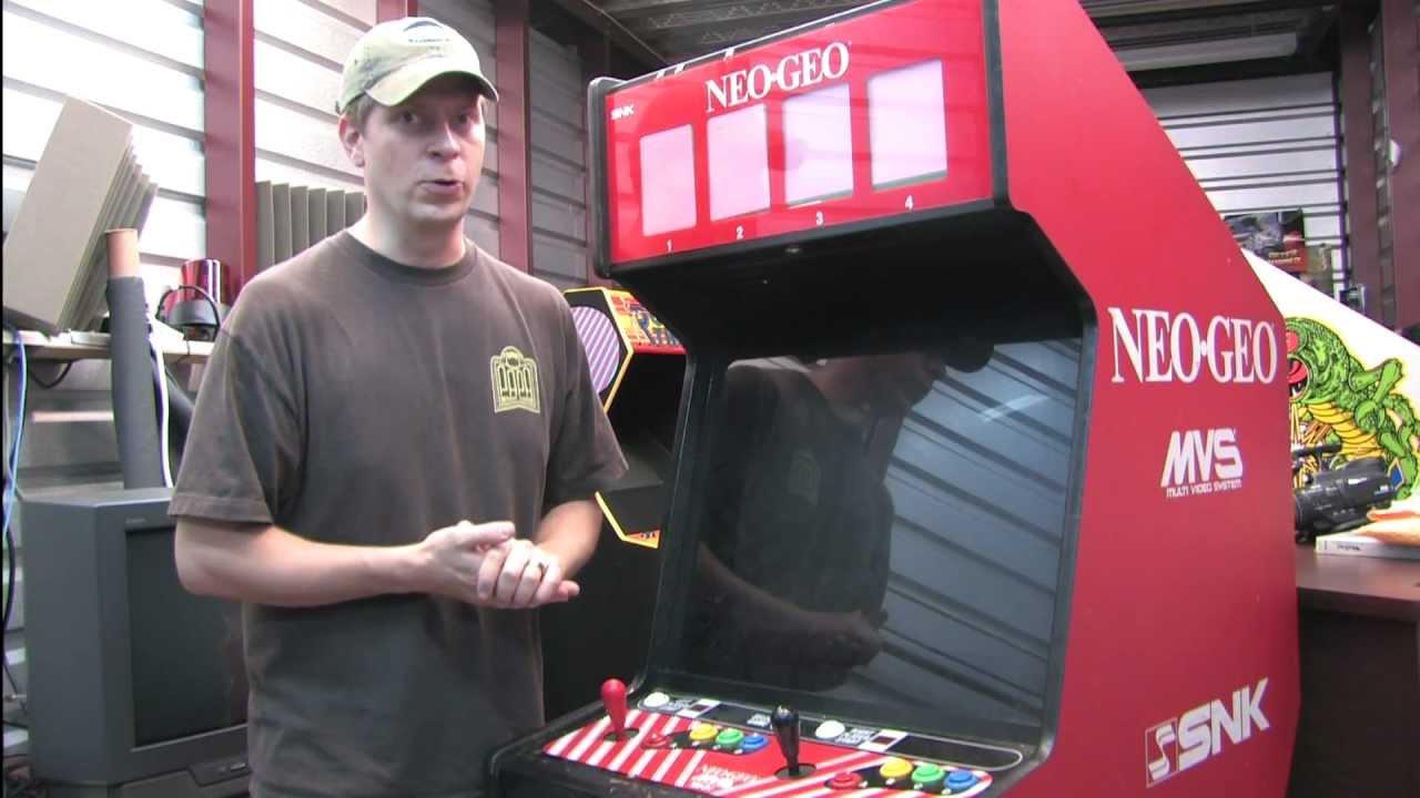 Classic Game Room - WE BOUGHT A NEO-GEO MVS 4-slot arcade machine ...