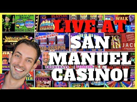 🔴 LIVE at San Manuel Casino ➡️ Brian Christopher Slots 🎉 BCSlots.com