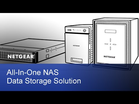 NETGEAR ReadyNAS All-In-One Data NAS Data Storage Solution
