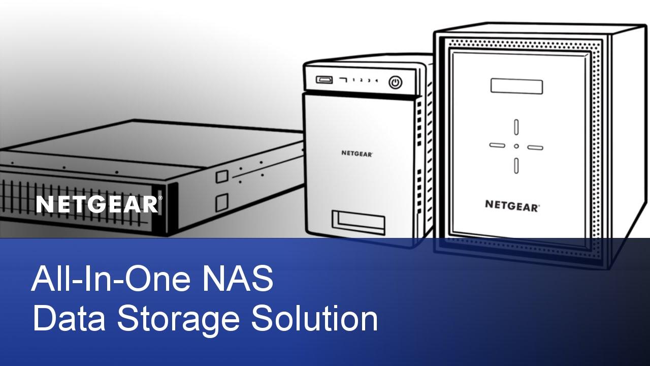 NETGEAR ReadyNAS All-In-One Data NAS Data Storage Solution