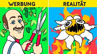 Gardenscapes : Werbung vs Realität