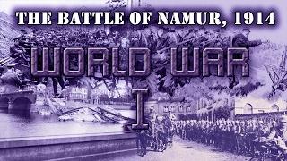"World War I. Entente campaign, mission 1 ""The Battle of Namur"""