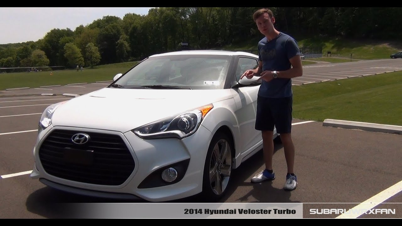 Review 2014 Hyundai Veloster Turbo  YouTube