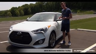 Review 2014 Hyundai Veloster Turbo смотреть