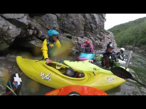 Northern Italian Alps kayaking Trip 2016