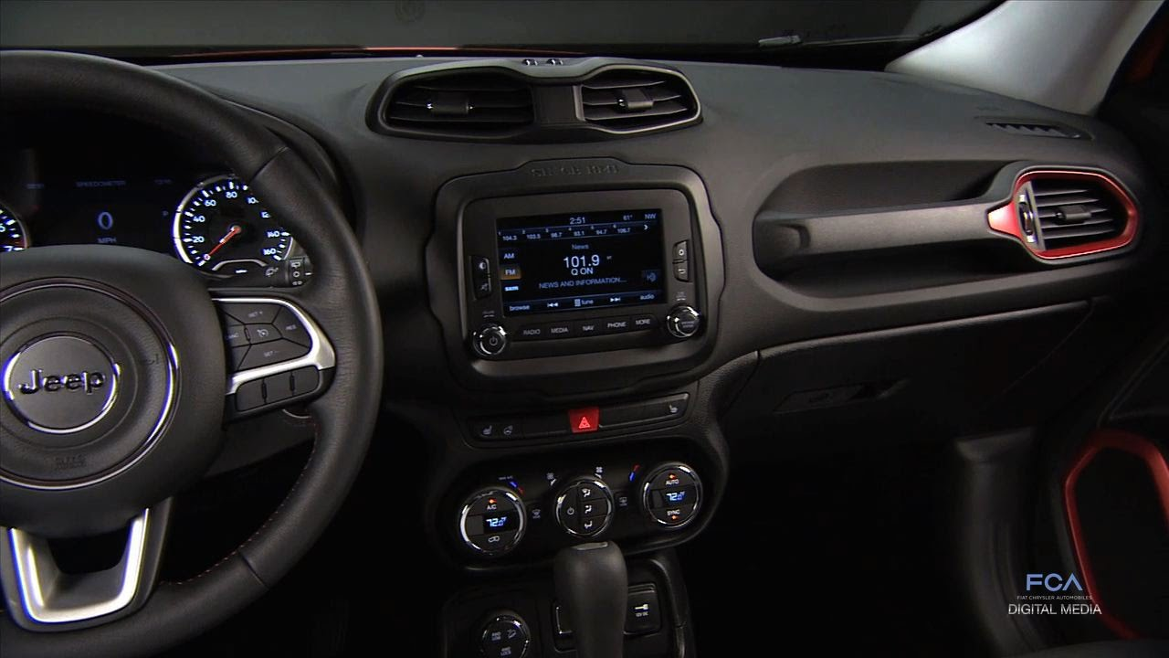 Designing The Interior Of The 2015 Jeep Renegade