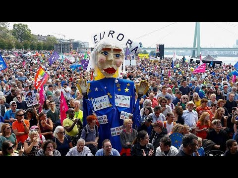 شاهد: مظاهراتٌ في أوروبا دعماً للتكتّل في مواجهة مخططات اليمين القومي المتطرف…  - نشر قبل 2 ساعة