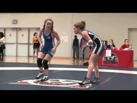 2016 Brock Open FW48kg Augusta Eve (Impact) vs Christine Grafe (Western)