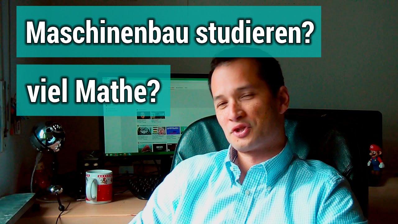 Wieviel mathe steckt im maschinenbau studium drin youtube for Maschinenbaustudium nc
