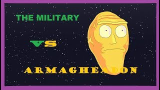 The Military vs Armagheadon - May include funny clips of military dancing