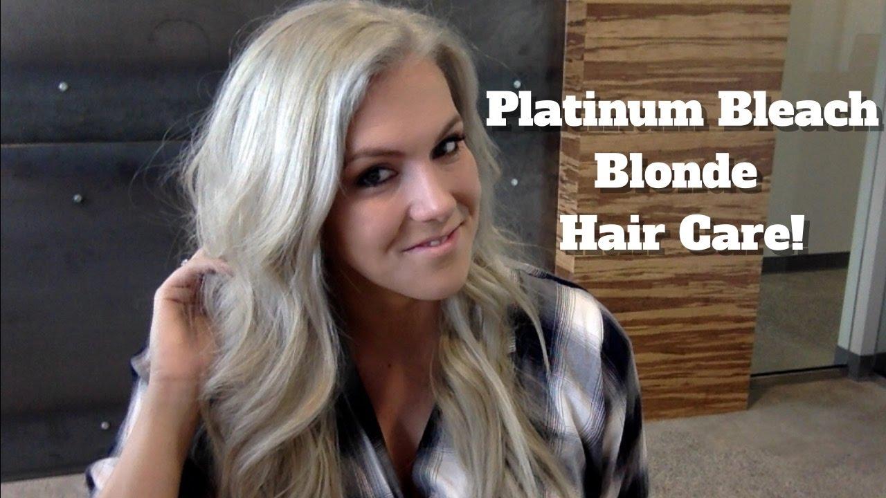 My Platinum Hair Care Routine