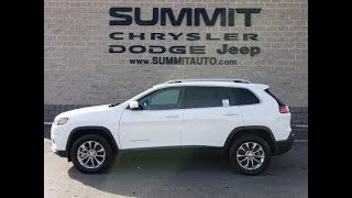 SOLD! 9J29A 2019 JEEP CHEROKEE LATITUDE PLUS 4X4 FOND DU LAC OSHKOSH WISCONSIN www.SUMMITAUTO.com
