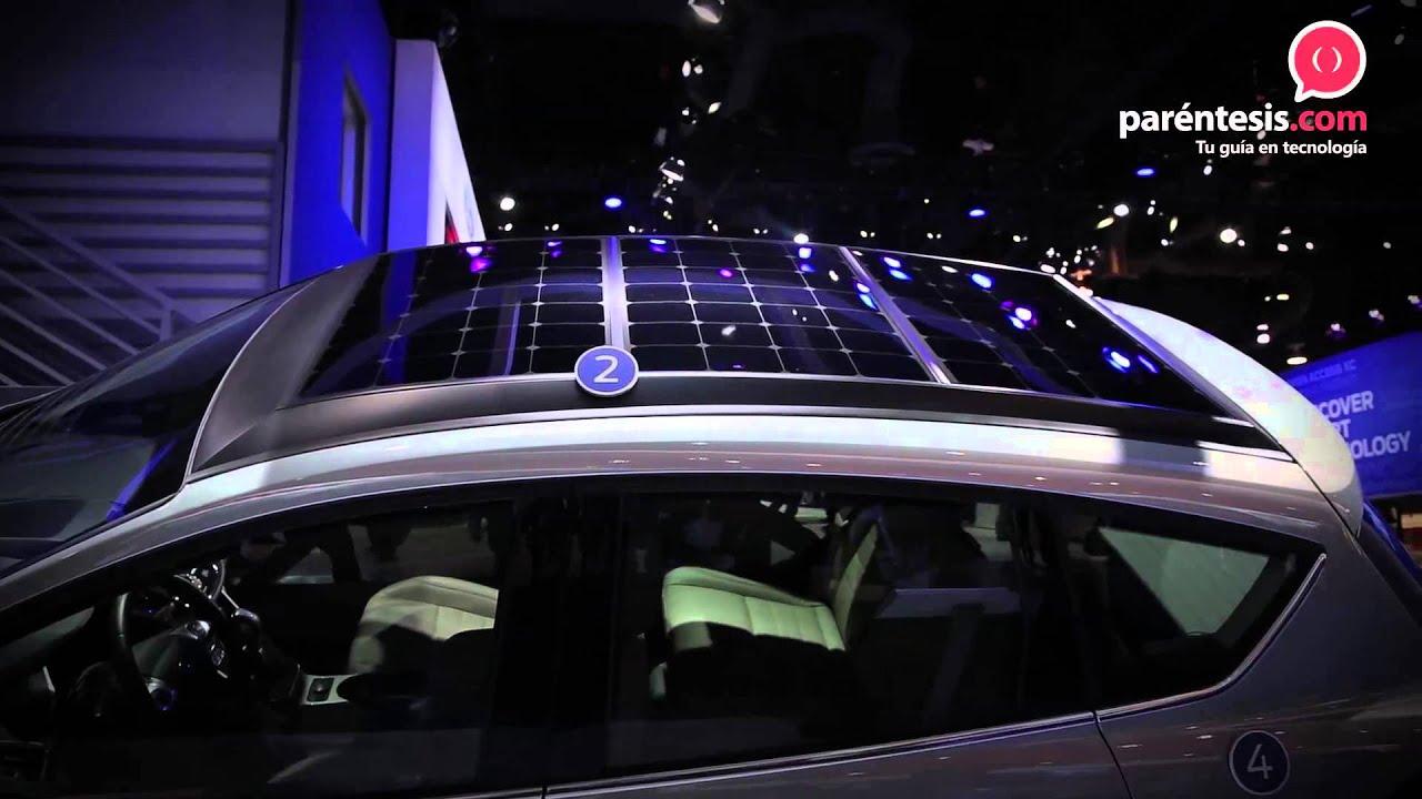 Ford C Max Energi >> Ford presenta un auto que funciona con energía solar. - YouTube
