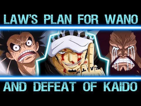 Trafalgar D. Law's Master Plan to Defeat Kaido in Wano - One Piece Major Theory Explained
