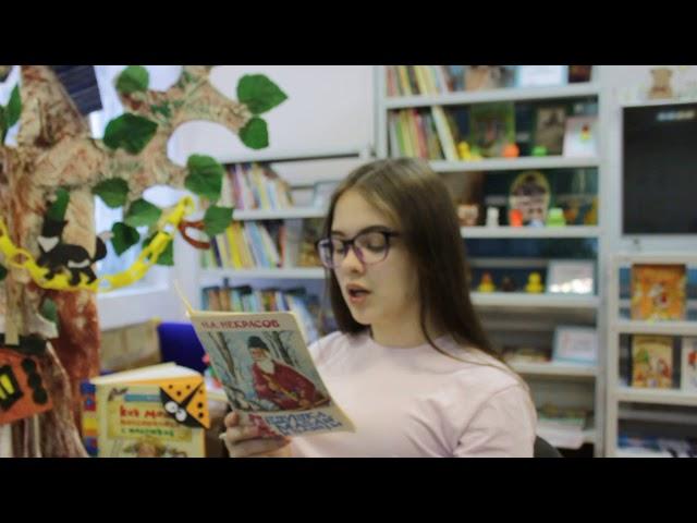 Изображение предпросмотра прочтения – АлисаНикитенко читает произведение «Дед Мазай и зайцы» Н.А.Некрасова