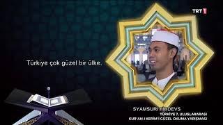 Download Mp3 Syamsuri Firdaus Qori Indonesia - Juara 1 Internasional Turki -full Vedio Terbar