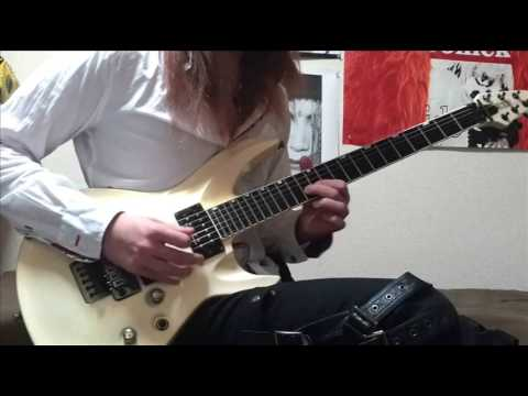 X JAPAN Tears Guitar Solo Cover