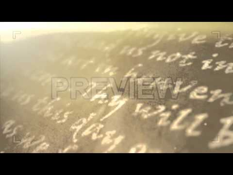Religious Text Background Stock Motion Graphics