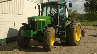 John Deere 7810 tractor. I love it!
