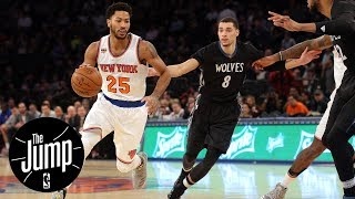 Should Derrick Rose Sign With The Timberwolves?   The Jump   ESPN