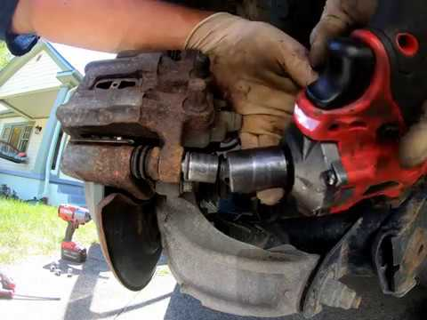 2011 2016 Honda CRV Rear brake pads and rotor replacement