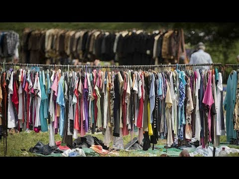The 'clothing problem': How to make the most out of used clothing
