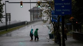 [En directo] El huracán Florence llega a la costa este de Estados Unidos