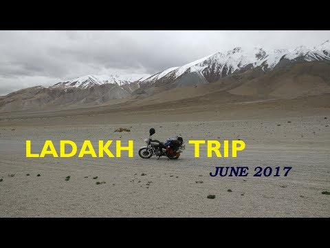 16 Days Solo Ride on Dangerous Roads of Himalayas : LADAKH TRIP 2017