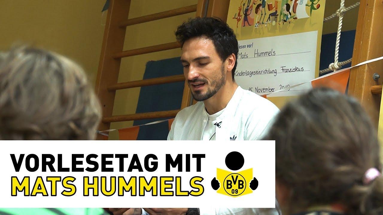 Vorlesetag mit Mats Hummels: Überraschungsbesuch in der Kita | BVB