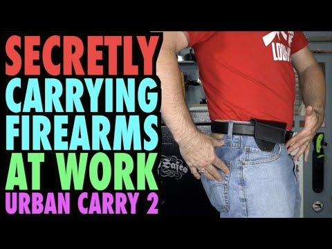 How to Secretly Carry at Work (Urban Carry 2)
