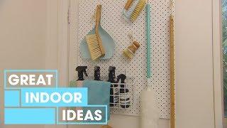 How to Create Storage Behind Doors | Indoor | Great Home Ideas