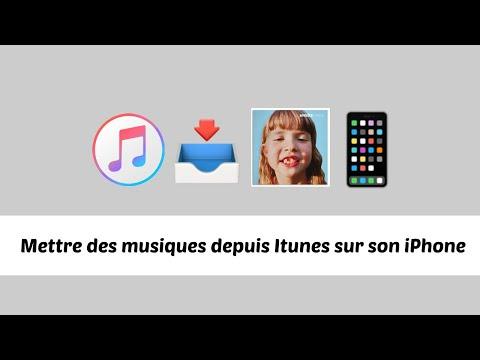 Mettre des musiques depuis Itunes sur son Iphone (Gratuit)