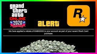 GTA 5 Online NEW YEARS 2020 DLC Update - FREE MONEY REBATE! Open Wheel Races, NEW Missions & MORE!