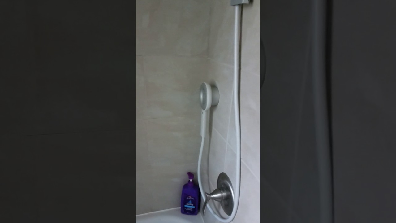 Nebia shower wand issue. - YouTube