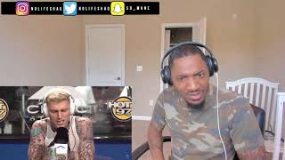 Eminem diss MGK and MGK diss G-Eazy! | Machine Gun Kelly  Funk Flex Freestyle REACTION