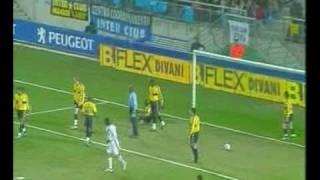 2003/2004 UEFA 1/16a Sochaux-Inter Milan: 2-2