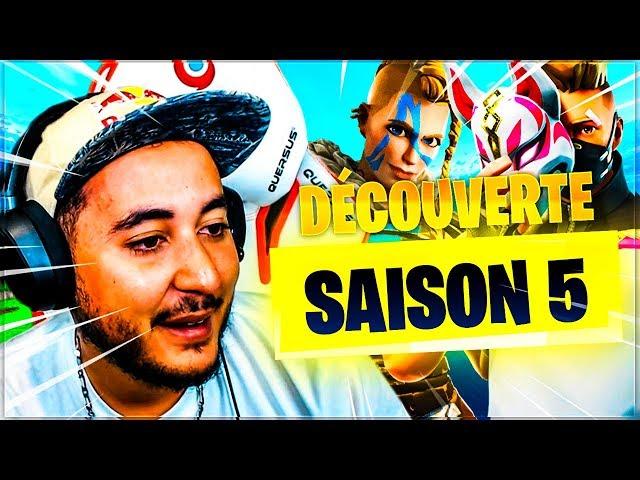 LA NOUVELLE SAISON SUR FORTNITE !!!