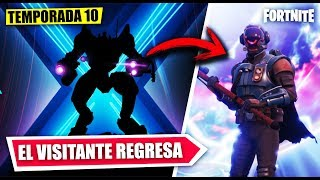 VISITOR RETURNS *SEASON 10* NEW SECRETS *FILTRATED* FORTNITE BATTLE ROYALE