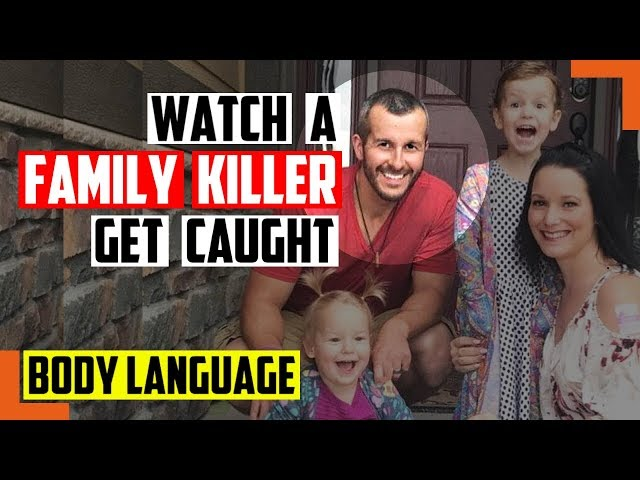 Watch How Police Caught Chris Watts, Family Murderer, With Body Language - Police Body Cameras