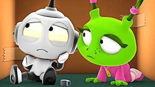 Rob the Robot | Lost & Found | Preschool Learning Videos for Children by Oddbods & Friends