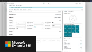How to set up a customer in Dynamics 365 Business Central