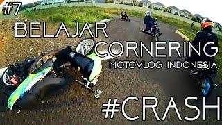 crash belajar cornering   cisco   motovlog indonesia